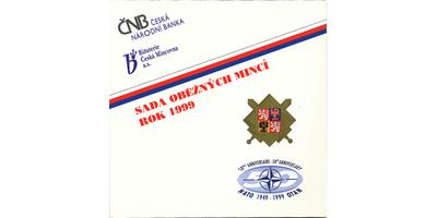Ročníková sada mincí 1999 - NATO