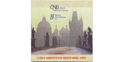 Ročníková sada mincí 1999 - Petr Parléř