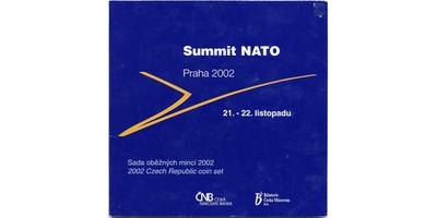 Ročníková sada mincí 2002 - Summit NATO