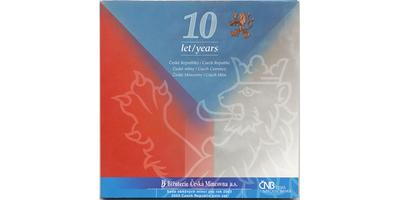 Ročníková sada mincí 2003 - 10 let České republiky