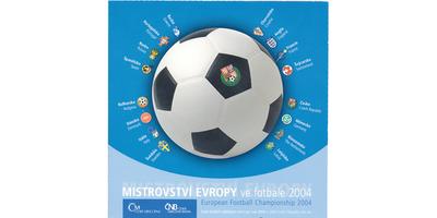 Ročníková sada mincí 2004 - Mistrovství Evropy ve fotbale