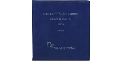 Ročníková sada mincí 2006 - PROOF