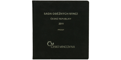Ročníková sada mincí 2011 - PROOF