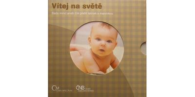 Ročníková sada mincí 2011 - Vítej na světě