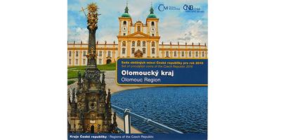 Ročníková sada mincí 2016 - Olomoucký kraj
