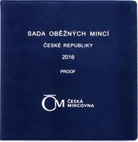 Ročníková sada mincí 2014 - Česká Republika, PROOF