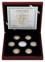 Sada oběžných mincí České Republiky 2018 a 2019