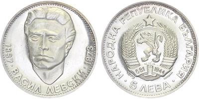 25 Leva 1990, zimní olimpijské hry, Ag 0,925, 38,5 mm (23,04 g), PROOF