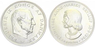 5 Kroner 1964 - princezna Anna - Marie
