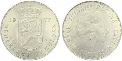 10 Gulden 1973