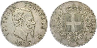 5 lira 1872