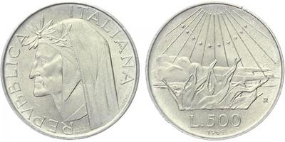 500 Lira 1965