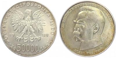 50000 Zlotý 1988