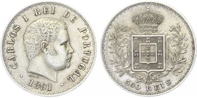 500 Reis 1891