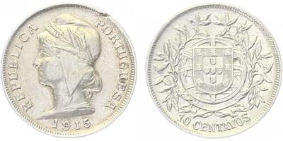 10 Centavos 1915