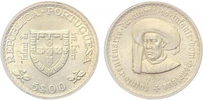5 Escudos 1960