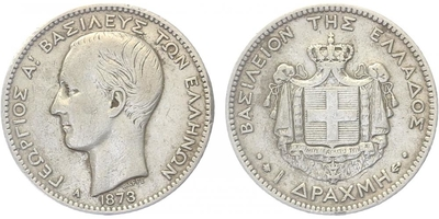 Drachma 1873 A