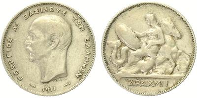 Drachma 1911