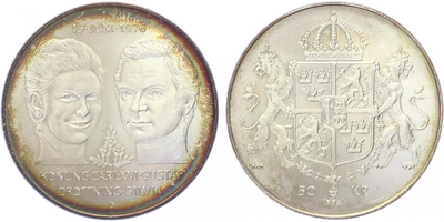 50 Koruna 1976