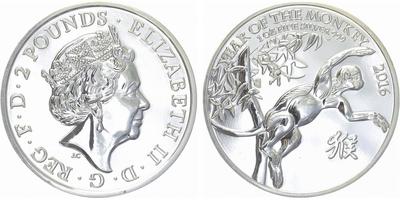 2 Pounds 2011 - Zlacená Británnia, standard