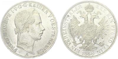 Tolar spolkový 1858 A