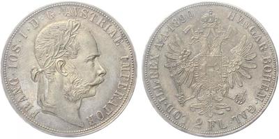 2 Zlatnik 1890