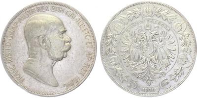 5 Koruna 1909 - Marschall