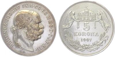 5 koruna 1907 KB