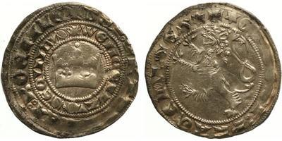 Václav II., Pražský groš, Sm. 4