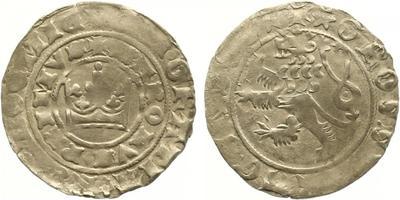 Karel IV., Pražský groš, Pinta II.a/1, tečka v ocase