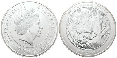 30 Dollar 2013 - Koala, Ag 0,999 (1000 g)
