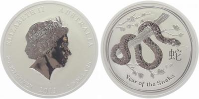 2 Dollars 2013 - Rok hada, PROOF