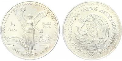 1/2 Unce 1991 - PLATA PURA