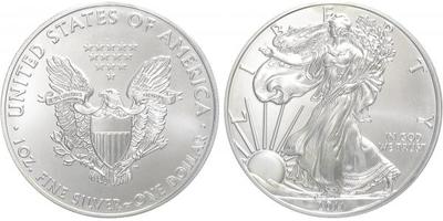 1 Dollar 2011 - Liberty, běžná kvalita