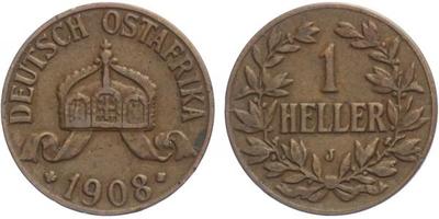 Haléř 1908 J