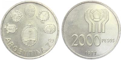 2000 Pesos 1977