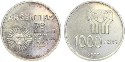 1000 Pesos 1977