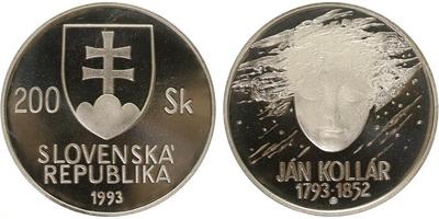 200 Sk 1993 - Ján Kollár, PROOF