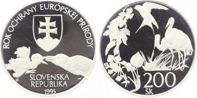 200 Sk 1995 - Rok ochrany evropské přírody, PROOF