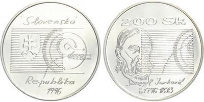 200 Sk 1996 - Samuel Jurkovič, bežná kvalita