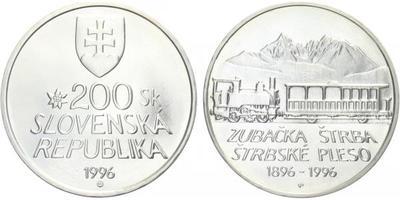 200 Sk 1996 - Zubačka Štrba - Štrbské pleso, běžná kvalita