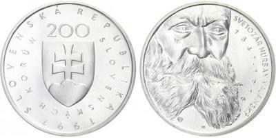 200 Sk 1997 - Svetozár Hurban Vajanský, bežná kvalita