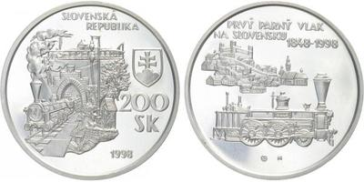 200 Sk 1998 - První parný vlak na Slovensku, bežná kvalita