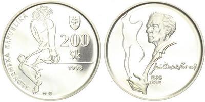 200 Sk 1998 - Ján Smrek, bežná kvalita