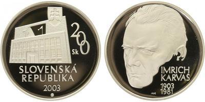 200 Sk 2003 - Imrich Karvaš, PROOF