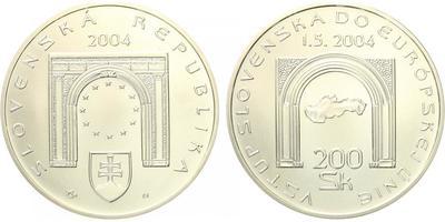 200 Sk 2004 - Vstup SR do Evropské unie, běžná kvalita