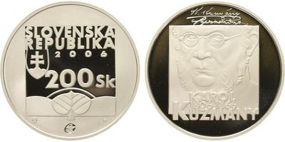 200 Sk 2006 - Karol Kuzmány, PROOF