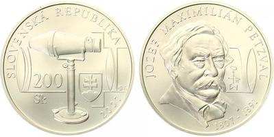 200 Sk 2006 - Jozef Maximilian Petzval, bežná kvalita