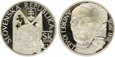 200 Sk 2008 - Andrej Kmeť, PROOF