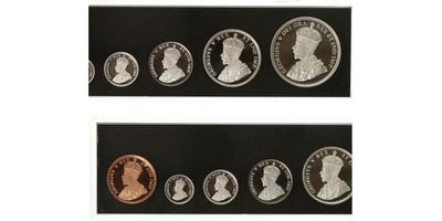 Kanada, sada 6 ks 2011 - 100. výročí kanadkého dolaru 1911 - 2011, PROOF